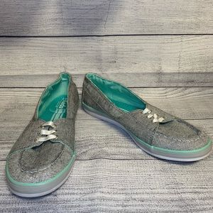 Gray Laced Keds Size 9